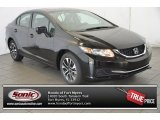 2015 Crystal Black Pearl Honda Civic EX Coupe #98854239