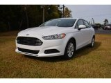 2015 Oxford White Ford Fusion S #98854512