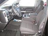 2015 Chevrolet Silverado 1500 LTZ Crew Cab 4x4 Jet Black Interior