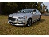 2015 Ingot Silver Metallic Ford Fusion Titanium #98854509
