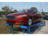 2015 Ruby Red Metallic Ford Fusion SE #98854508