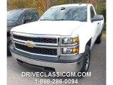 2015 Summit White Chevrolet Silverado 1500 WT Regular Cab 4x4 #98854542