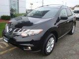 2011 Super Black Nissan Murano SV AWD #98854470