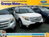 2011 White Platinum Tri-Coat Ford Explorer XLT 4WD #98854399
