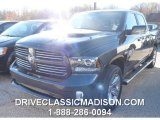 2015 Maximum Steel Metallic Ram 1500 Sport Crew Cab 4x4 #98890170
