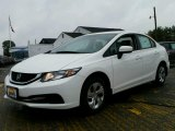 2015 Taffeta White Honda Civic LX Sedan #98890326