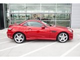 2015 Mercedes-Benz SLK designo Cardinal Red Metallic