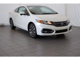 2015 Taffeta White Honda Civic EX-L Coupe #98889743