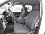 2015 Chevrolet Silverado 1500 LT Crew Cab 4x4 Jet Black Interior