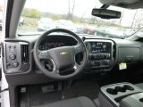 2015 Chevrolet Silverado 1500 LT Crew Cab 4x4 Dashboard