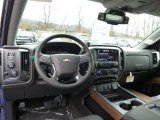2015 Chevrolet Silverado 1500 LTZ Double Cab 4x4 Dashboard