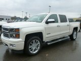 2015 White Diamond Tricoat Chevrolet Silverado 1500 High Country Crew Cab 4x4 #98889936