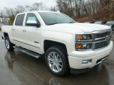 2015 Chevrolet Silverado 1500 High Country Crew Cab 4x4 Front 3/4 View