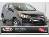 2014 Crystal Black Pearl Honda CR-V LX #98889716