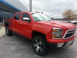 2015 Victory Red Chevrolet Silverado 1500 Lingenfelter Reaper Crew Cab 4x4 #98930696