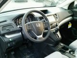 2015 Honda CR-V EX AWD Gray Interior