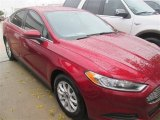 2015 Ruby Red Metallic Ford Fusion S #98930386