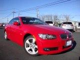 2009 Crimson Red BMW 3 Series 328i Convertible #98930666