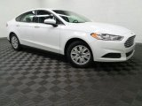 2013 Oxford White Ford Fusion S #98930657