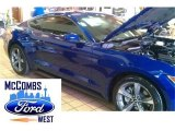 2015 Deep Impact Blue Metallic Ford Mustang EcoBoost Coupe #98982406