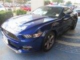 Deep Impact Blue Metallic Ford Mustang in 2015