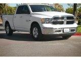 2014 Bright White Ram 1500 SLT Quad Cab #98982463