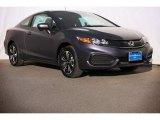 2015 Modern Steel Metallic Honda Civic EX Coupe #98982503