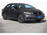 2015 Modern Steel Metallic Honda Civic EX-L Sedan #98982500