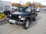 2010 Black Jeep Wrangler Sahara 4x4 #98982568