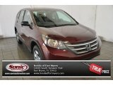 2014 Basque Red Pearl II Honda CR-V LX #98982319