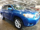 2008 Blue Streak Metallic Toyota Highlander Limited 4WD #99009288