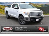 2015 Super White Toyota Tundra Limited Double Cab 4x4 #99008969