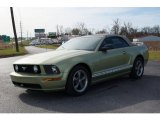 2005 Legend Lime Metallic Ford Mustang GT Premium Convertible #99034695