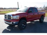 2006 Inferno Red Crystal Pearl Dodge Ram 1500 ST Quad Cab 4x4 #99034694