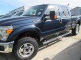 2015 Blue Jeans Ford F250 Super Duty XLT Crew Cab 4x4 #99034254