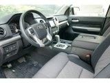 2015 Toyota Tundra SR5 Double Cab 4x4 Black Interior