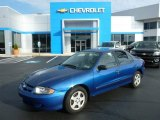 2003 Arrival Blue Metallic Chevrolet Cavalier LS Sedan #99034407