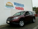 2012 Basque Red Pearl II Honda CR-V LX 4WD #99072508