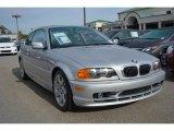 2001 Titanium Silver Metallic BMW 3 Series 325i Coupe #99072312