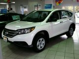 2014 White Diamond Pearl Honda CR-V LX AWD #99072497