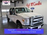 2015 Oxford White Ford F250 Super Duty Lariat Crew Cab 4x4 #99072107