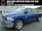 2015 Blue Streak Pearl Ram 1500 Big Horn Crew Cab 4x4 #99072248