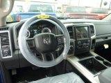 2015 Ram 1500 Big Horn Crew Cab 4x4 Dashboard