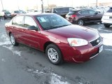 2007 Sport Red Metallic Chevrolet Malibu LS Sedan #99107300