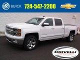 2015 Summit White Chevrolet Silverado 1500 LTZ Crew Cab 4x4 #99107295