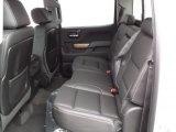 2015 Chevrolet Silverado 1500 LTZ Crew Cab 4x4 Rear Seat