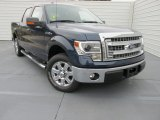 2014 Blue Jeans Ford F150 XLT SuperCrew #99107171
