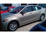 2015 Tectonic Silver Metallic Ford Fusion SE #99107039
