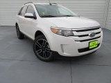 2014 White Platinum Ford Edge SEL #99107166