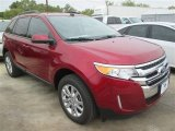 2014 Ruby Red Ford Edge SEL #99107031